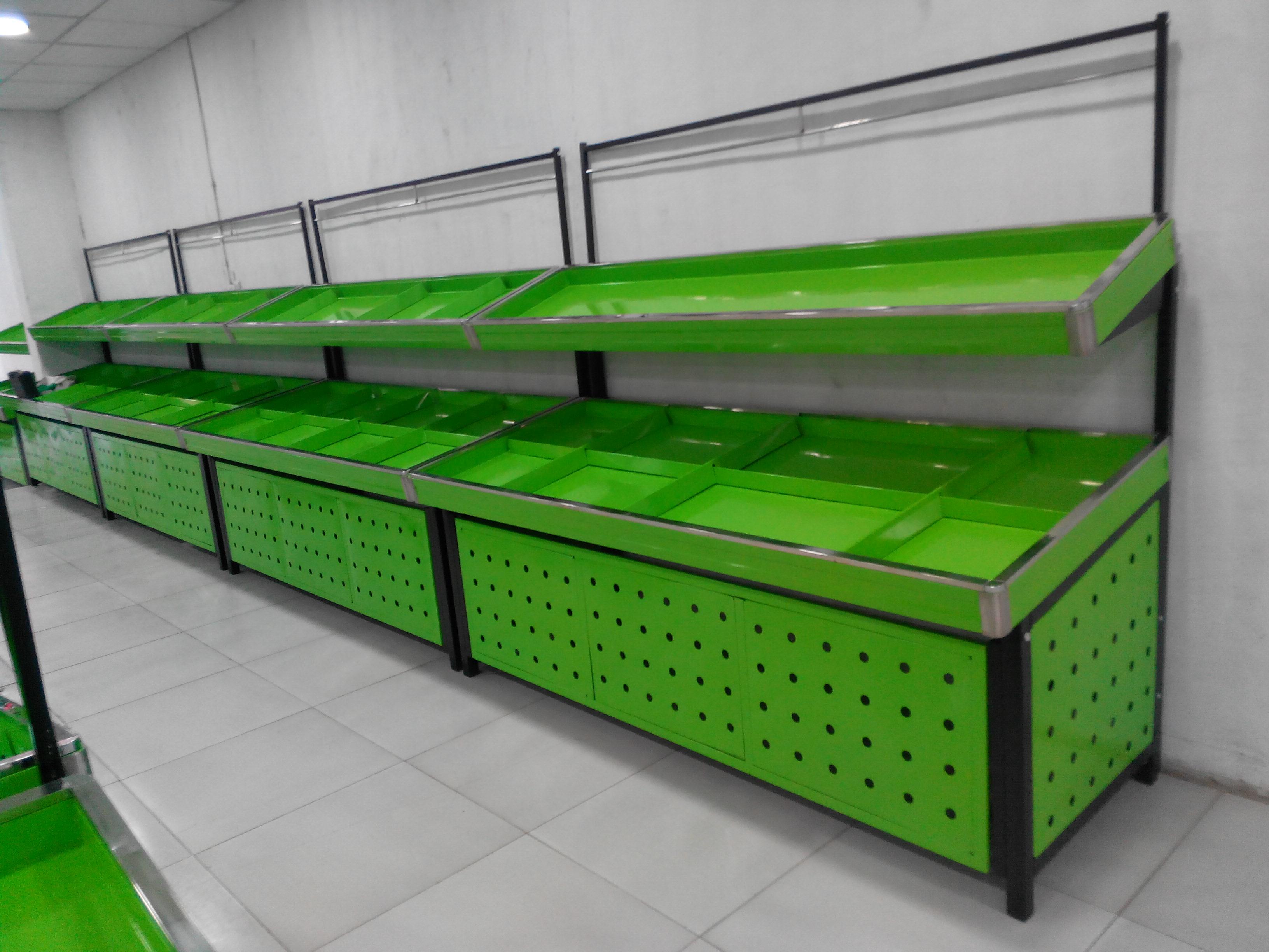 蔬菜架果蔬架蔬菜水果货架水果店蔬菜店展示架超市促销台水果货架