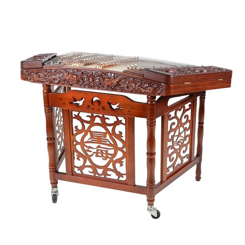 扬琴8623f-a专业浮雕402扬琴演奏级收藏扬琴乐器杨琴