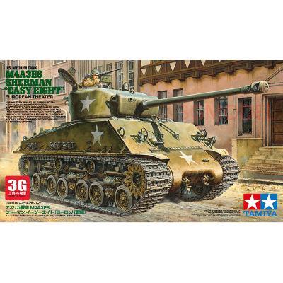 3G模型田宫模型35346  谢尔曼M4A3E8坦克模型 狂怒