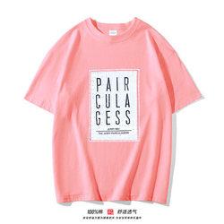 【第二件0元】夏季男女童纯棉印花短袖