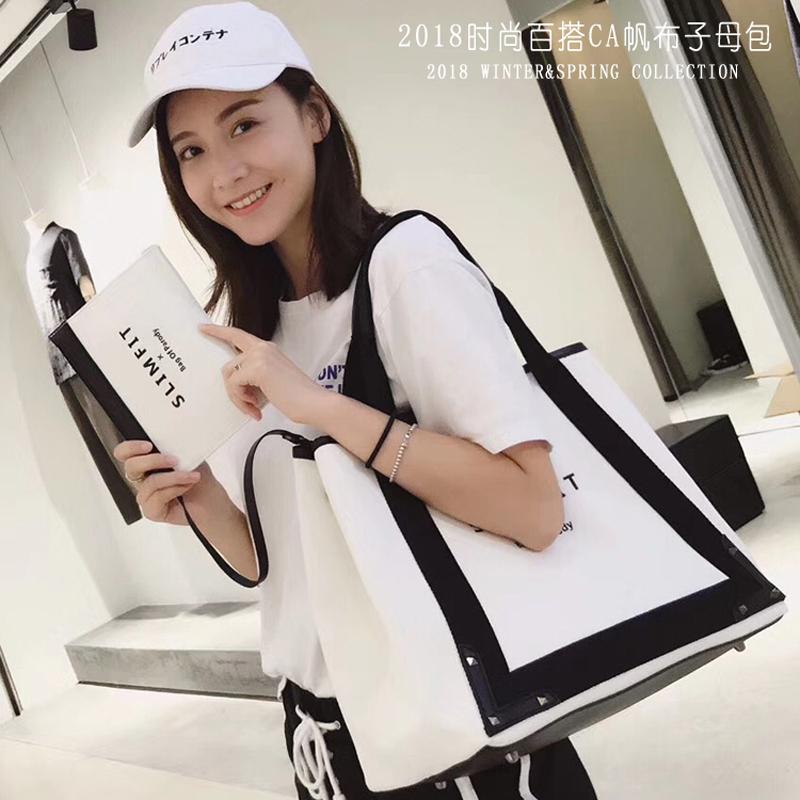 日本包单肩包大容量女包大官网帆包女 包包女2019新款(非品牌)