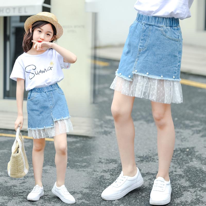 女童裤子夏款外穿半身裙时髦普通可爱潮流时尚简约运动小朋友女孩