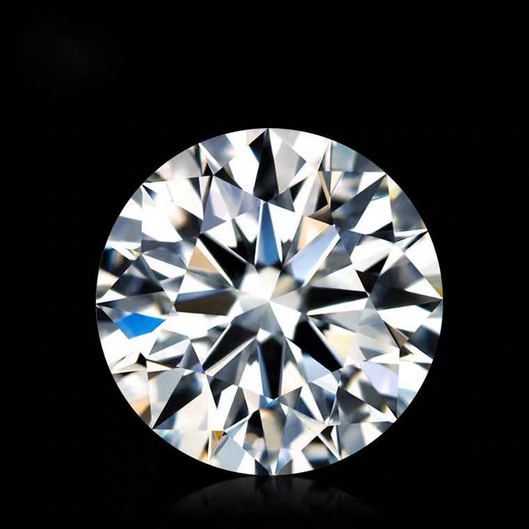 Mo Sangshi ring female one carat platinum diamond ring couple Sterling Silver proposal wedding birthday gift to girlfriend