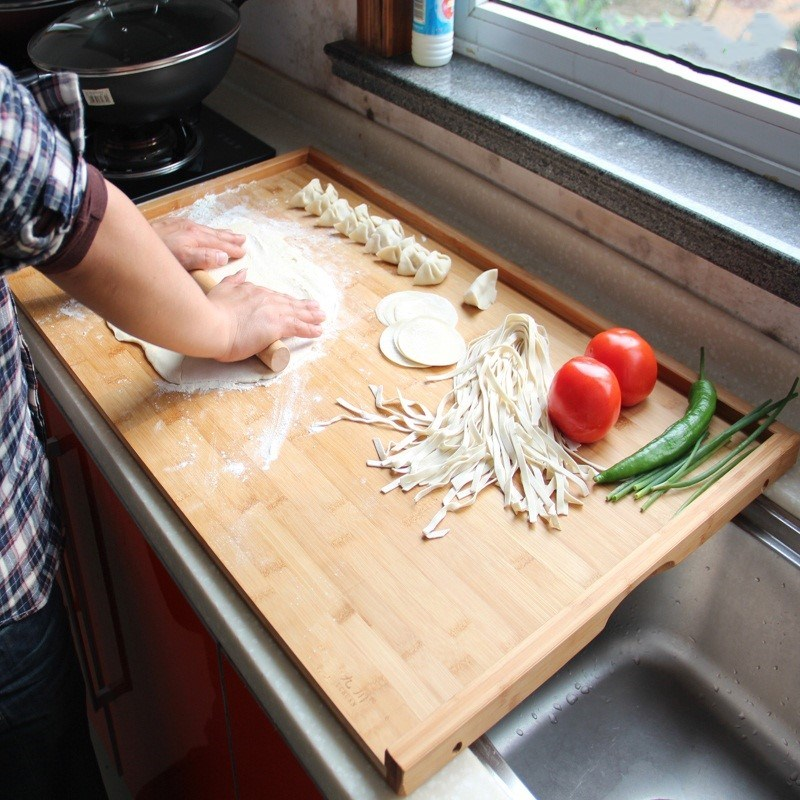 厨房板子竹板家庭竹子砧板切菜板家用擀面板面点用品简易饺子皮