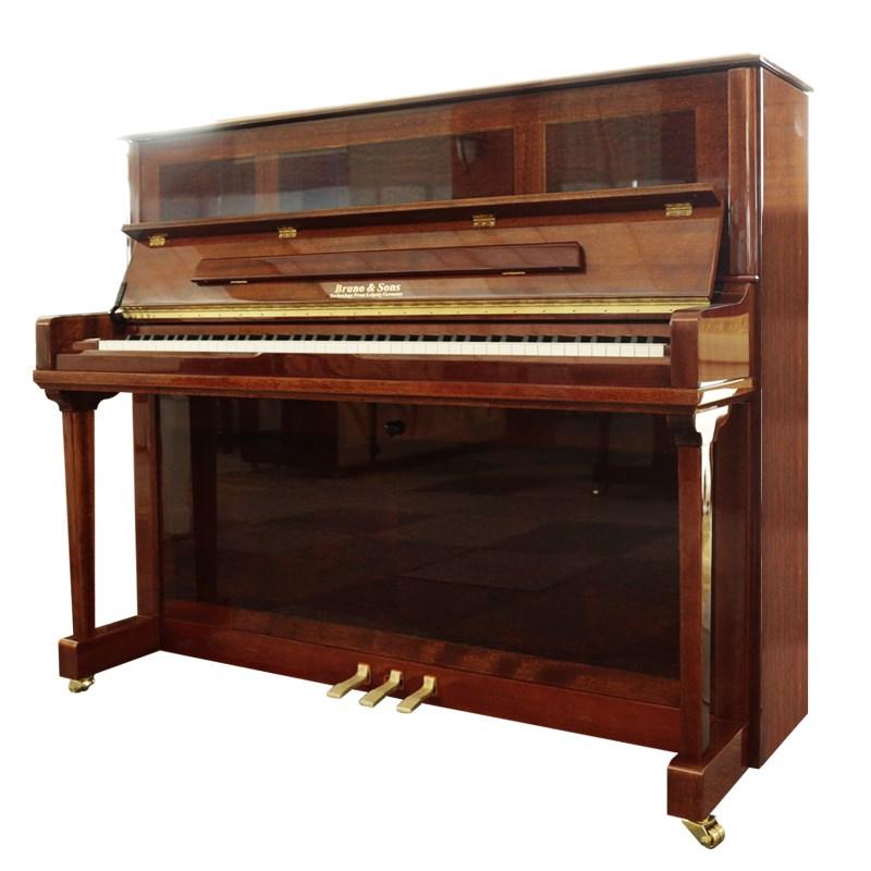 德国布鲁诺全新立式钢琴家用进口初学者成人品牌原装专业级GT850