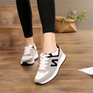 单鞋旅游鞋春秋百搭运动鞋女鞋子韩版潮平底透气学生休闲鞋跑步鞋