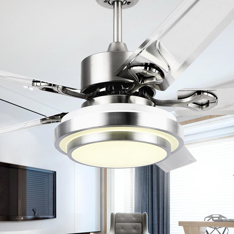 潇洒枫客厅家用现代餐厅带吊扇灯限时2件3折