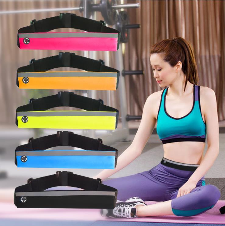 腰包健身房手机男女夜跑装备腰带满6元可用1元优惠券