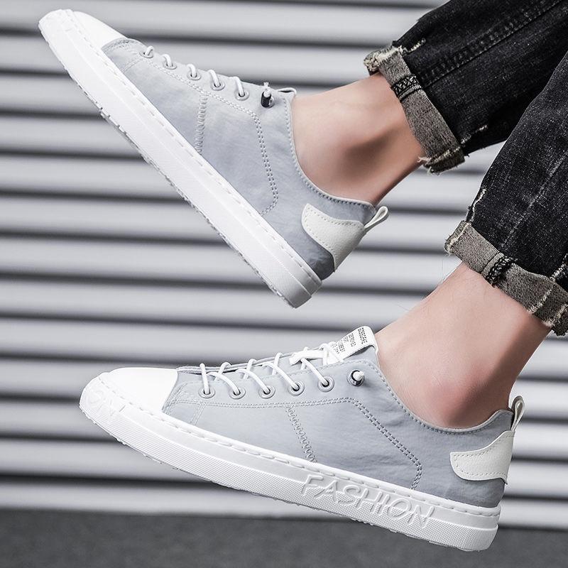 帆布鞋男2021春夏新款潮流老北京布鞋小白鞋韩版板鞋百搭休闲潮鞋