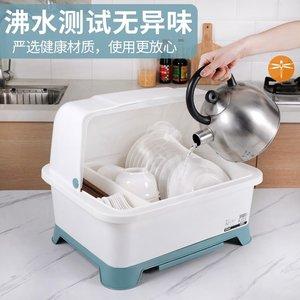 农村厨房老式碗柜小型家用简易经济型菜柜放碗大号出租房塑料碗筷