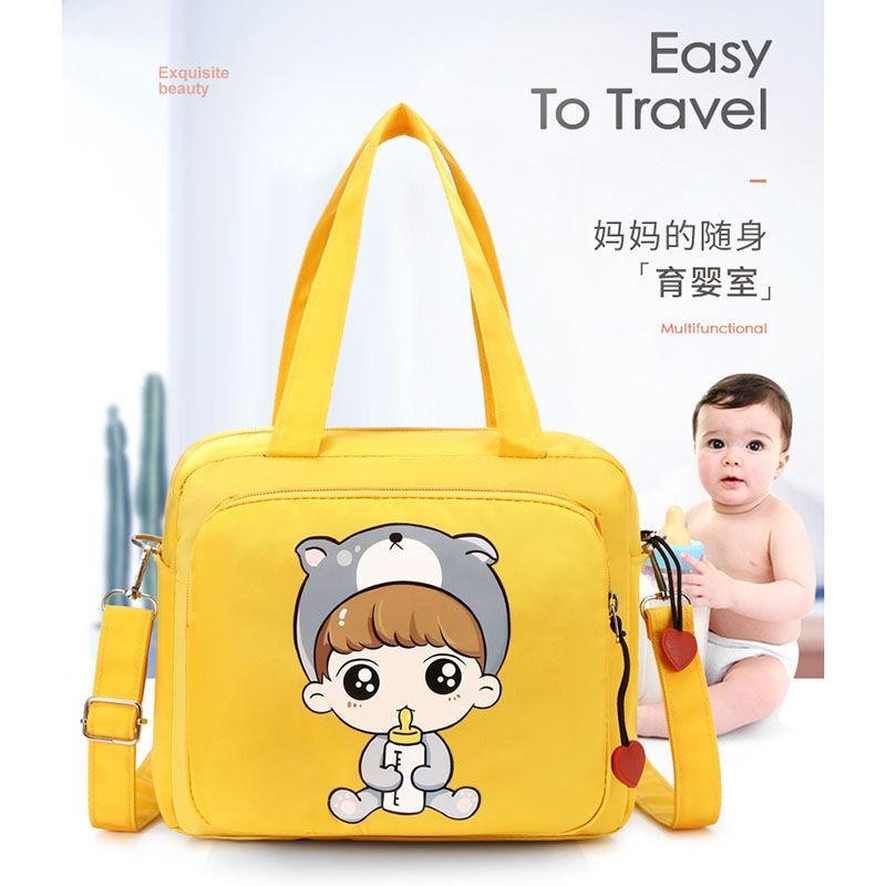 .宝宝奶瓶奶粉外出包手提哺乳奶瓶包多口袋出行手提袋包带女包大