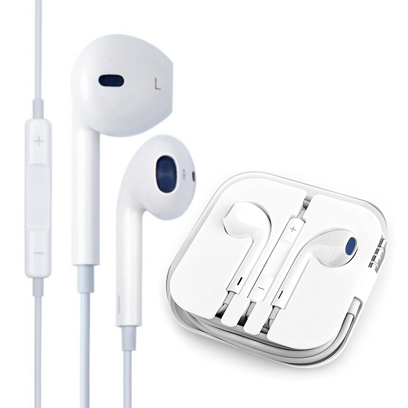 苹果手机耳机 iphone耳机入耳式线控麦克风耳塞适用iphone6s/plus,可领取5元天猫优惠券