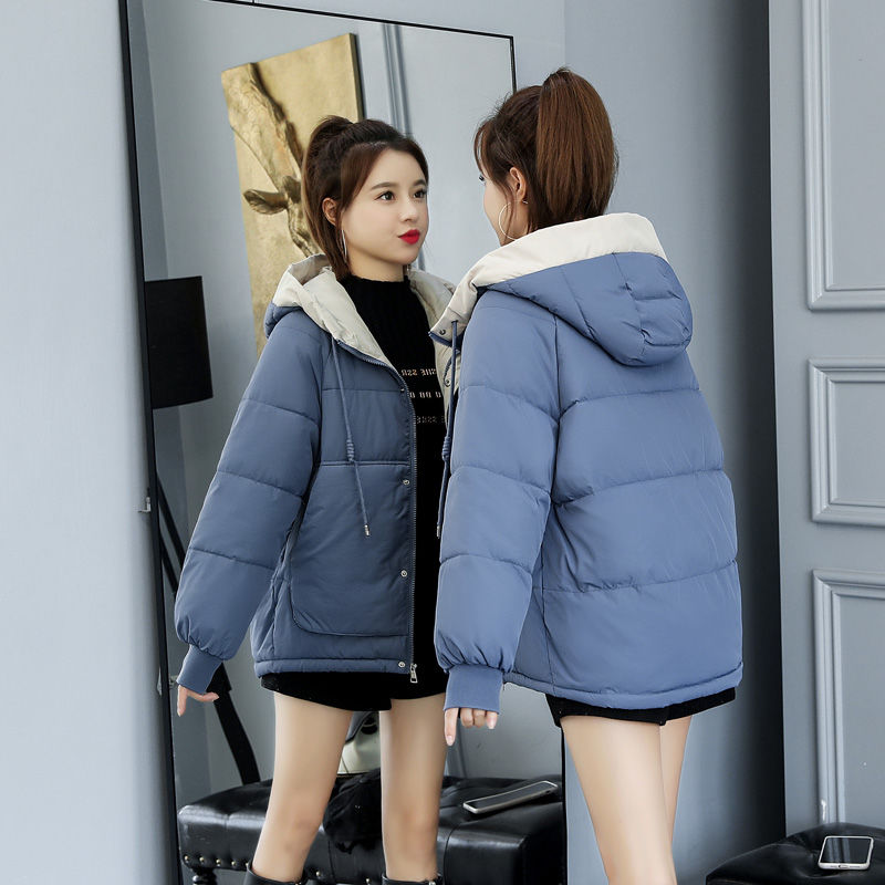 冬季外套女ins棉袄面包服女学生韩版宽松原宿风棉服短款网红冬装