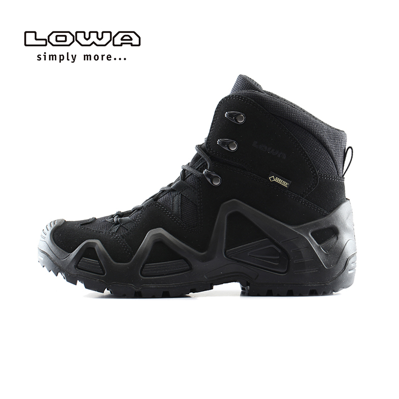 Lowa [official authentic] outdoor zephyr GTX TF mens middle upper waterproof and wear resistant combat tactical boots