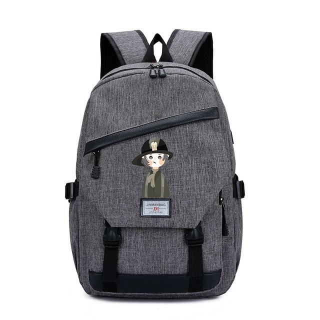 Fifth personality schoolbag game around Jack gardener mechanic fashion trend boys and Girls Backpack