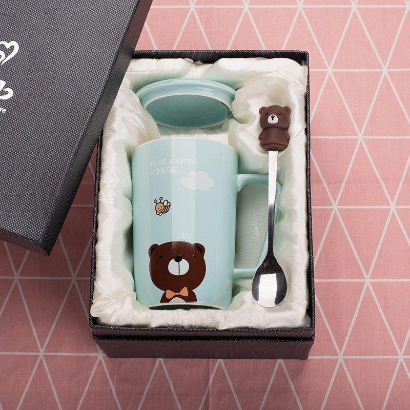 送老师毕业礼物精致学生实用水杯礼盒儿童幼儿园女生创意闺蜜留念