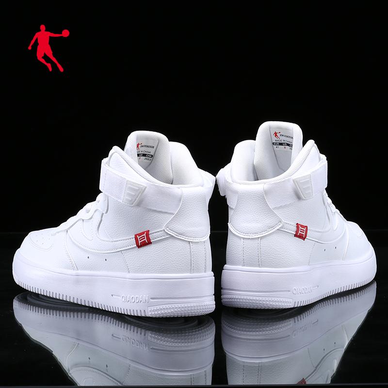 乔丹运动鞋男2020春夏新款休闲运动男鞋高帮aj白鞋空军一号板鞋