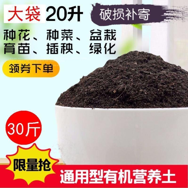 种花土壤营养有机肥料腐叶植物土通用型种植多肉的盆土发财树花土