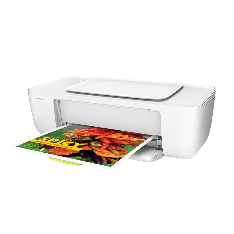 hp惠普1112彩色喷墨打印机家用学生照片小型迷你连供黑白A4纸办公