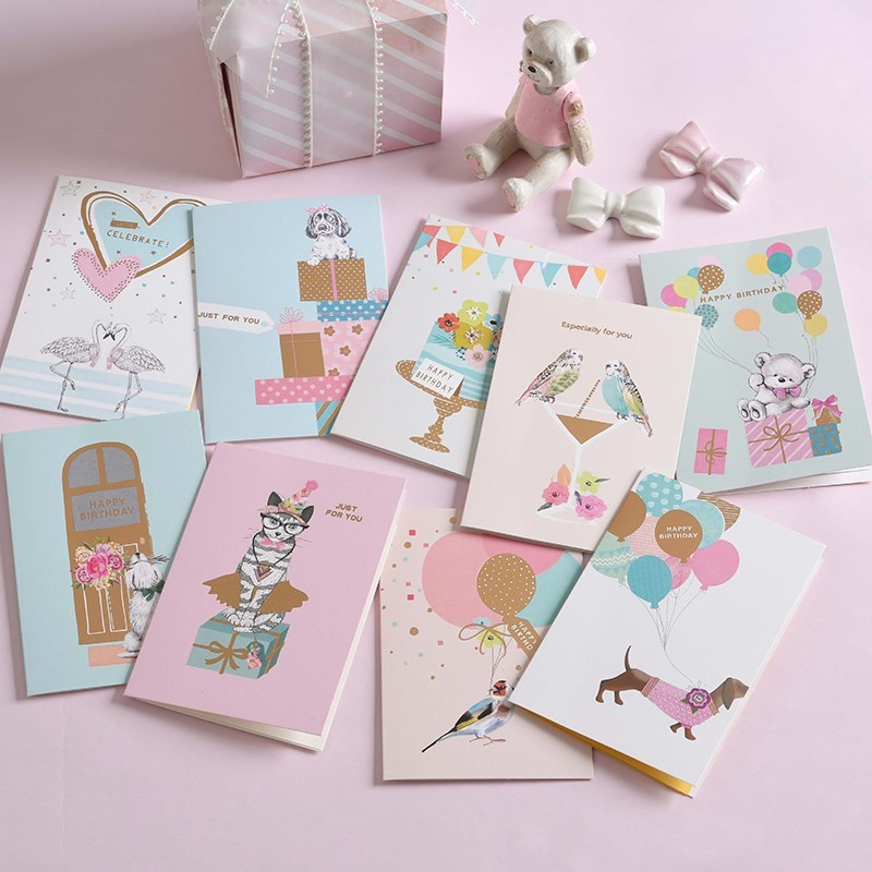 birthday cards thank you card happy birthday invitation car图片