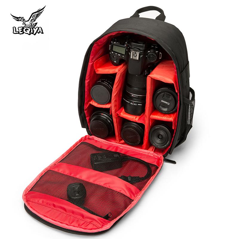 大容量户外摄影包小型双肩单反相机包男相机包多功能旅行微单背包