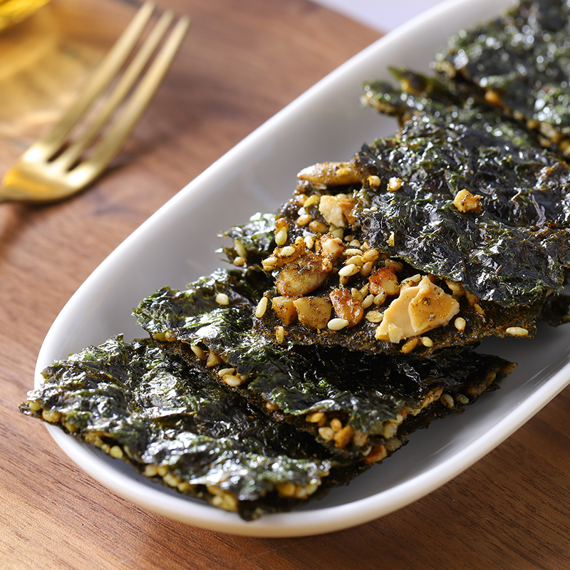 Daily nuts sandwich seaweed baked non fried seaweed sandwich large seaweed sandwich meat sandwich seaweed