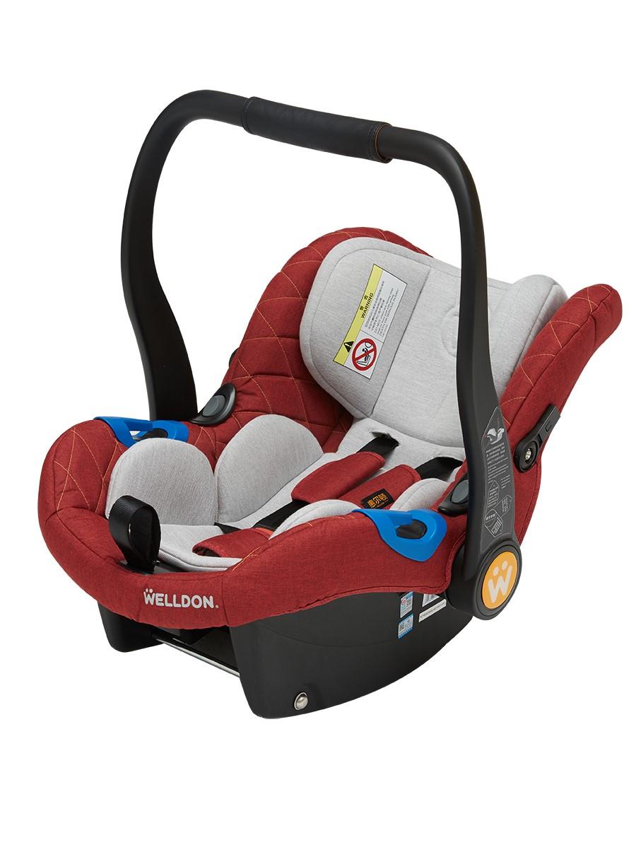 惠尔顿婴儿提篮式新生儿宝宝儿童安全座椅简易便携式可躺汽车车载