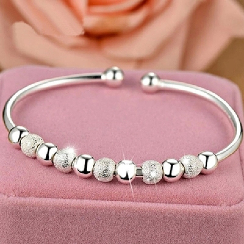 Limited seckill fashion 999 Sterling Silver Bracelet female simple couple Bohemia Bracelet personality versatile gift to girlfriends