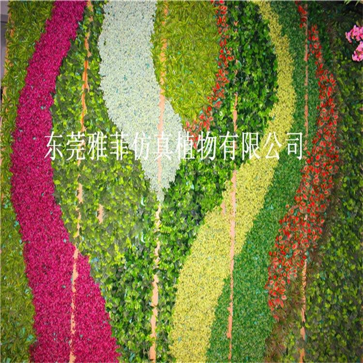 植物墙人工图案植物墙植物墙美化装饰工程