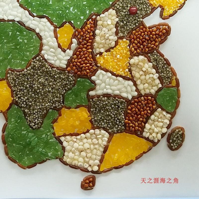 中国地图手工制作材料diy粘贴画