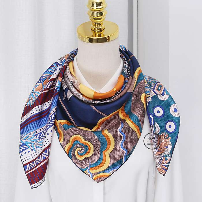 Sun chart dream of midsummer night wear suit versatile spring and autumn silk scarves women mulberry silk 90cm twill large square scarf