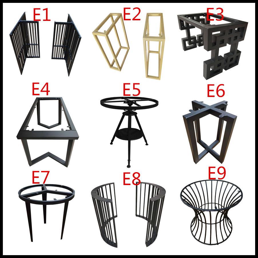 鐵藝桌腿餐桌腿不銹鋼定制金屬架子會議桌架辦公桌腳支架茶幾腳架
