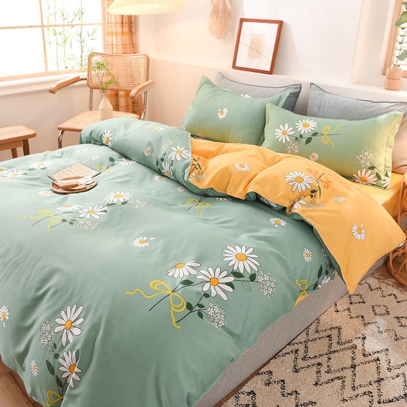 春夏季亲肤水洗棉被套单件被罩被壳双人单人学生宿舍被单床上用品