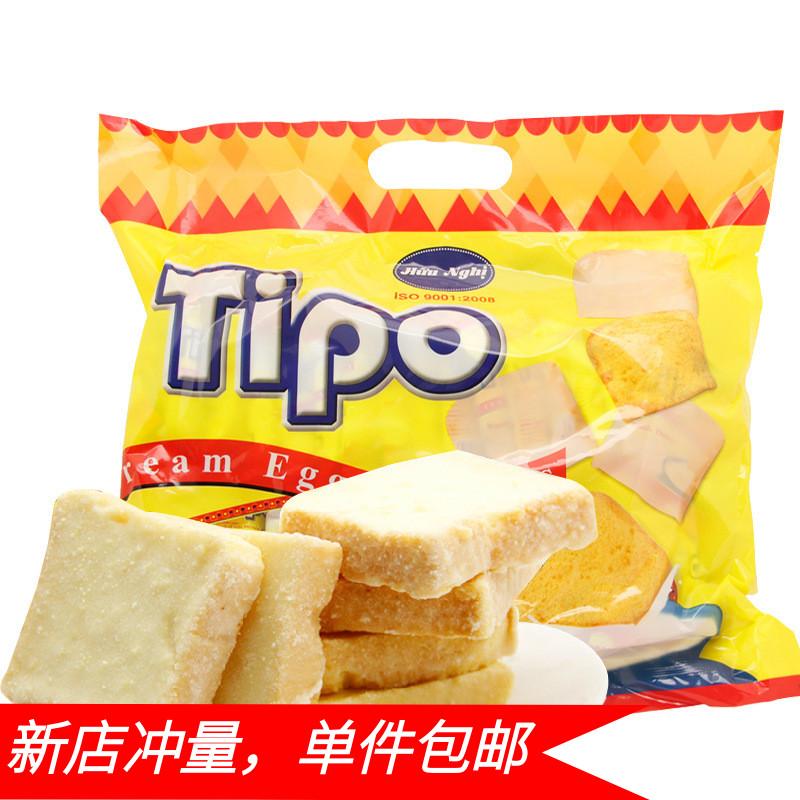 越南进口TIPO面包干135g网红零食早餐饼干蛋糕办公室休闲零食品