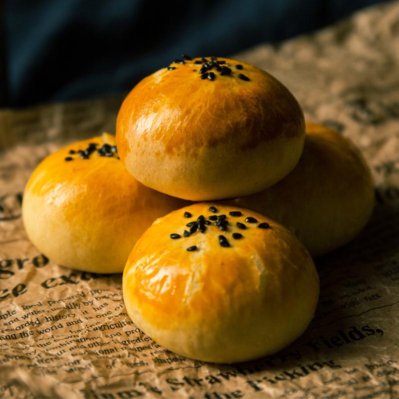 吴氏福锦记咸蛋黄酥雪媚娘海鸭蛋零食早餐食品营养养胃糕点榴莲饼图片