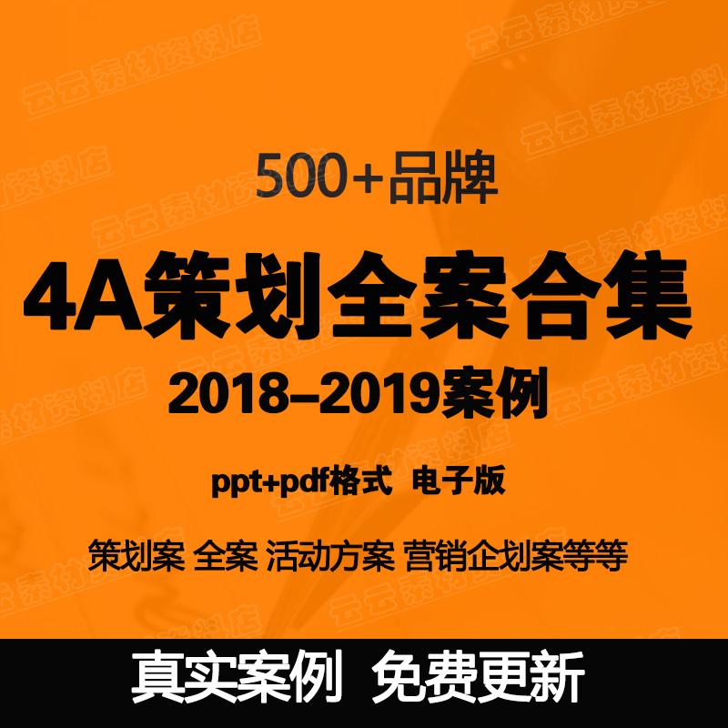 4A广告公司策划全案品牌营销活动推广策划案PPT传播策略方案资料