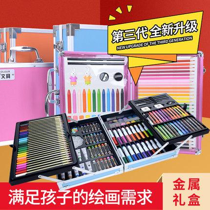 【薇娅推荐】98件套可水洗用品画画笔