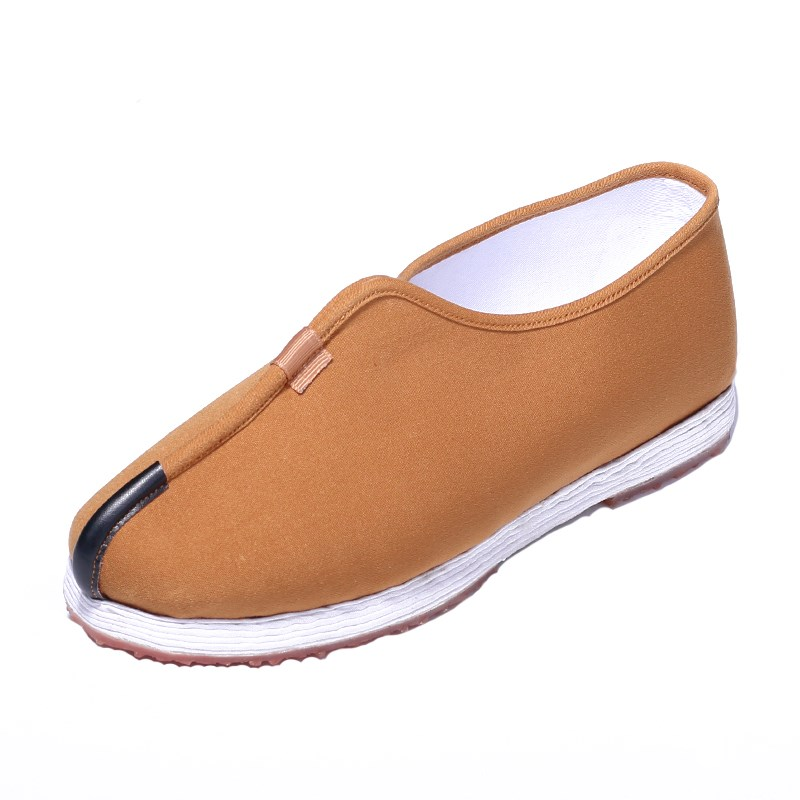 Pure handmade mens spring Buddhist shoes nun shoes monk monk shoes thousand layer bottom monk shoes single shoes
