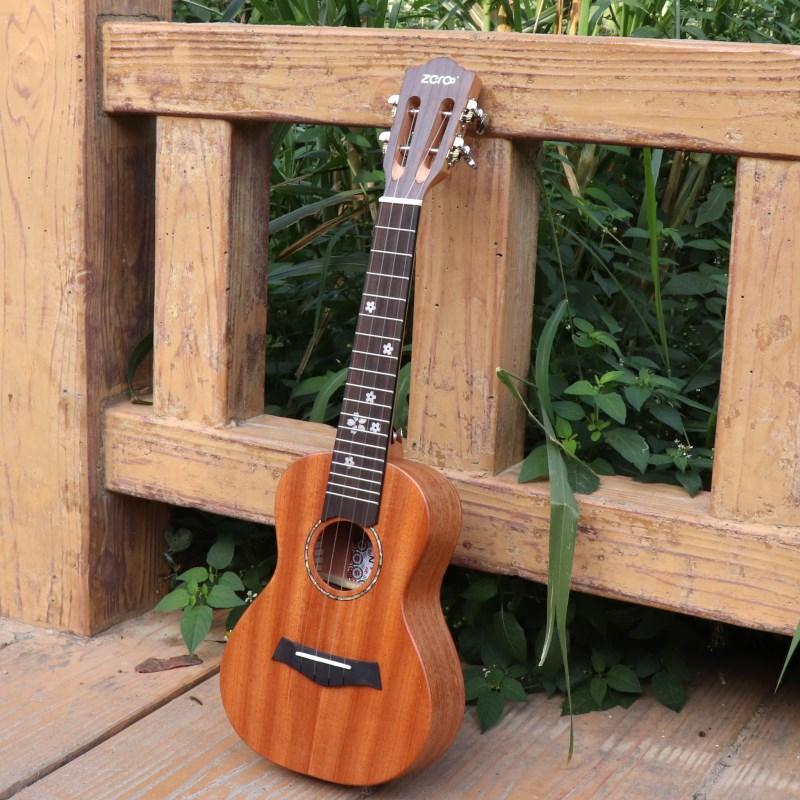 古典尤克里里23寸乌克丽丽琴头单板儿童学生成人初学者入门小吉他