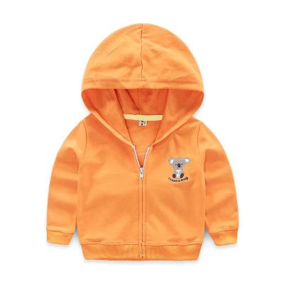 Whole store baby coat small animal hooded boy new spring and autumn childrens zipper cardigan boy boy