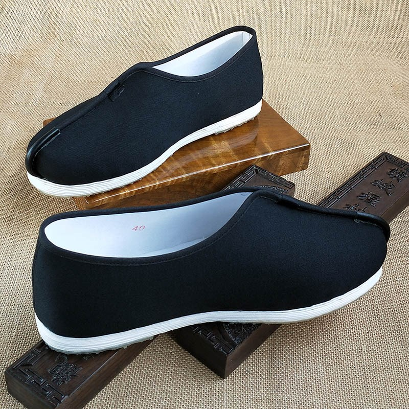 Mens dress handmade autumn daily monk monk casual Buddhist shoes