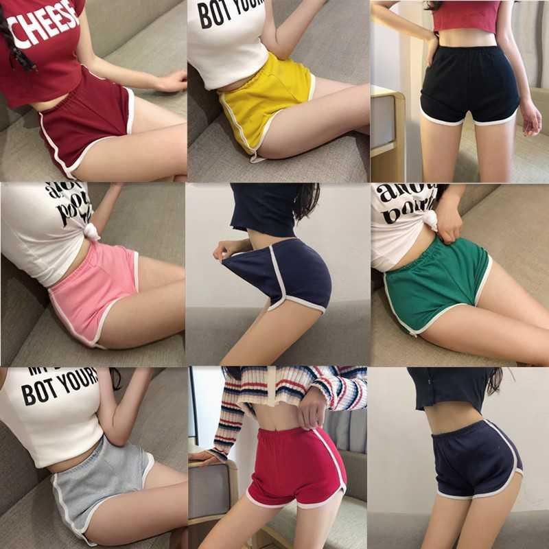 Truth pants spring and summer 2020 sports shorts female Korean student suit sports Yoga loose wide leg leisure new