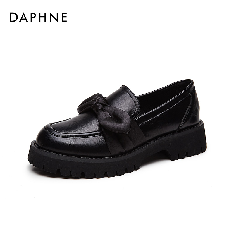 Daphne Lefu shoes female spring and autumn JK shoes muffin shoes thick bottom 2021 spring single shoes Yinglan wind small shoes female