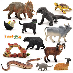 美国Safari 仿真动物园恐龙模型玩具 森林野生海洋生物海底世界