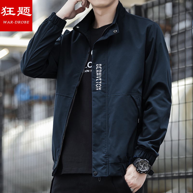 Kuangti / jacket mens jacket 2020 spring and autumn new baseball wear trend cool autumn casual top