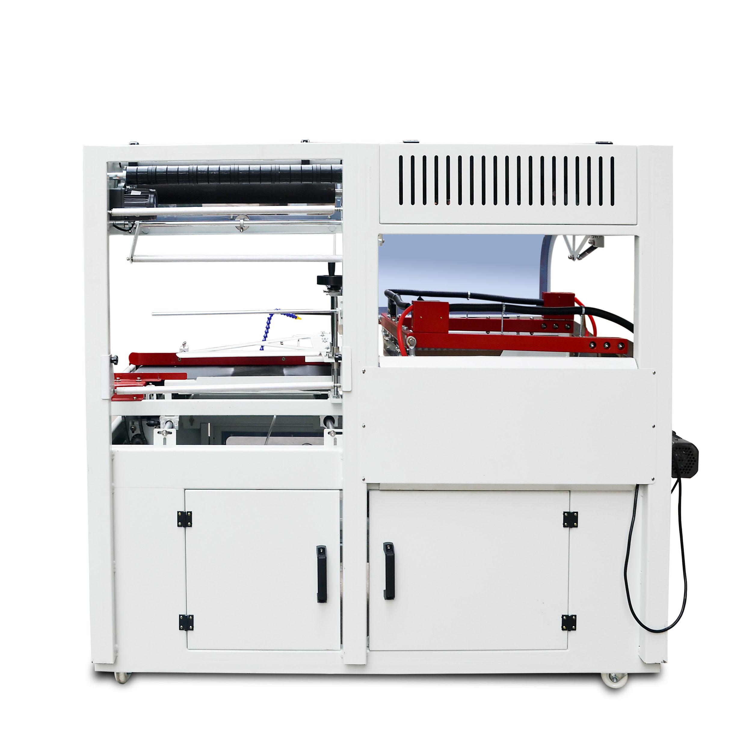 450全自动L型封切收缩机 外包装盒塑料封膜机 书本纸箱塑封机