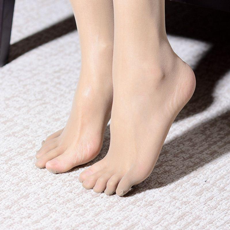指头分趾袜女袜袜子舒适无缝五趾袜女款任意剪女生百搭连裤袜连体