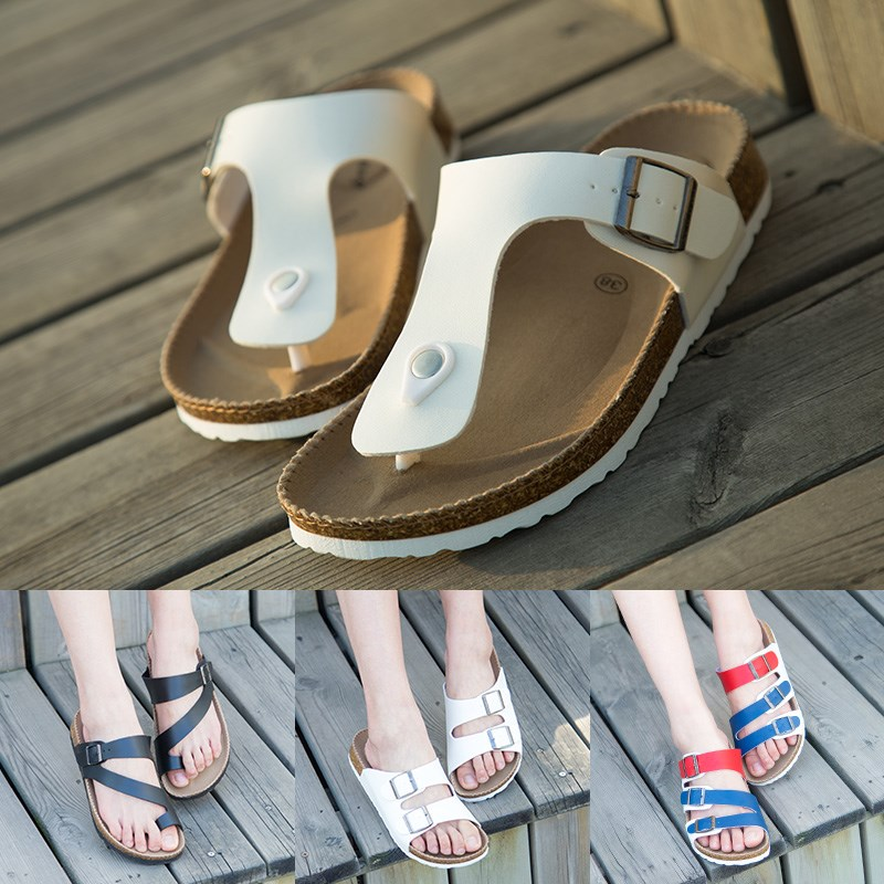 Leisure trend sports new beach shoes 2020 lovers new summer Korean cool flip flop everyday new