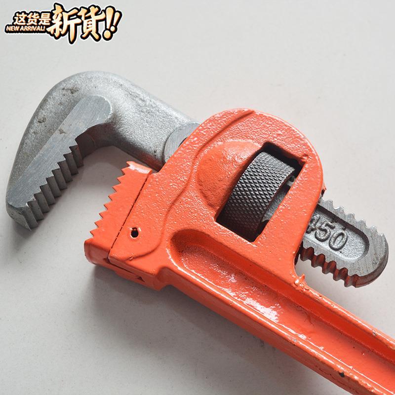 钳水暖维修工具家用.美式轻型管子钳 k管钳水管钳水泵钳扳手 安