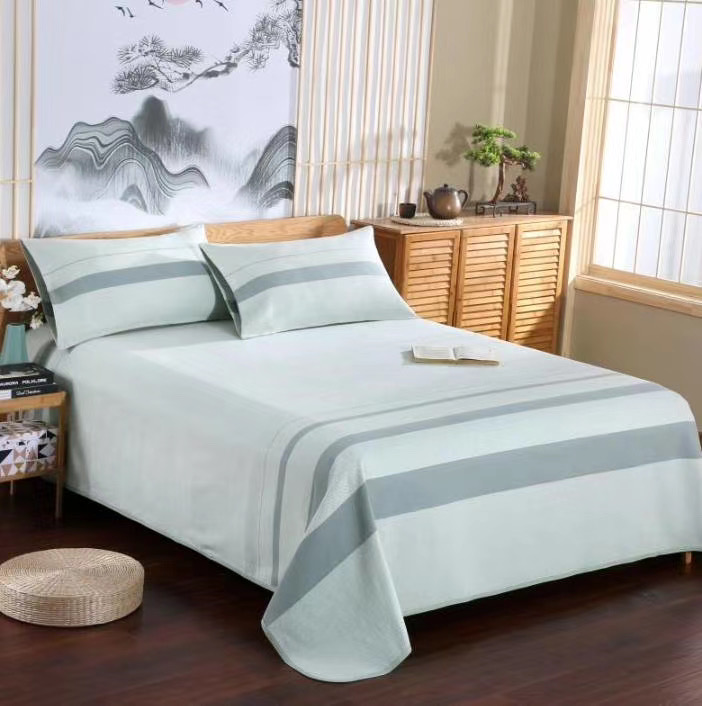 Japanese 1.0 bed 1.5 bed 1.8 bed Lius home Shandong Boxing high pure cotton coarse cloth mat air conditioning seat